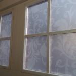 Interiérový polep oken v centru Brna