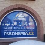 Polep výlohy TS Bohemia