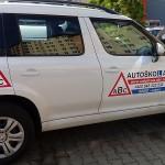 Polep vozidla autoškoly