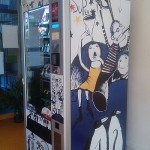 Polep prodejního automatu