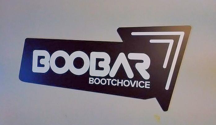 Cedule na zdi - Boobar Bučovice