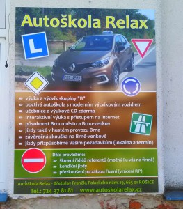 Reklamní cedule Brno
