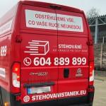 Polep dodávky Brno