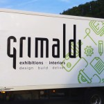 Reklamní polep nákladního auta