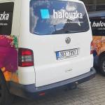 Polep dodávky Brno - firma Halouzka