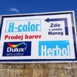 Výroba a montáž reklamní plachty Brno