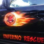 Polep Inferno Rescue pro Rally Rejvíz 2016