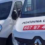 Reklamní polep dodávky Brno