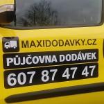 Reklamní polep auta v Brně