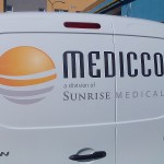 Reklamní polep auta Brno - Medicco