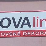 Reklamní cedule NOVAline - Rosice