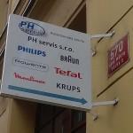 Výroba a montáž vývěsního štítu - Praha