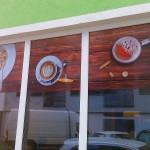 Polep pizzerie v centru Brna