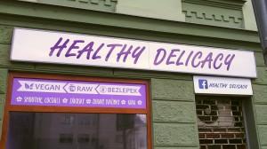 Reklamní polep cukrárny Brno