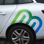 Reklamní polep auta - Renault Mégane, Bílovice nad Svitavou
