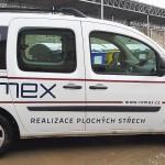 Polep flotily vozidel firmy ROMEX