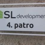 SL Development - orientační tabulka