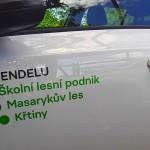Polep auta Brno - ŠLP Masarykův les Křtiny