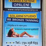 Reklamní cedule Oslavany