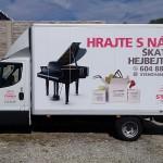 Polep nákladního automobilu Brno