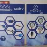 Grafické panely na veletržní stánek